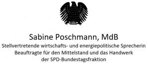 Sabine Poschmann, MdB