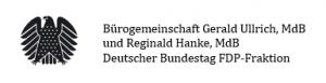 Bürogemeinschaft Gerald Ullrich, MdB und Reginald Hanke, MdB Deutscher Bundestag FDP-Fraktion